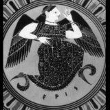 ギリシャ神話の同じ神を描いた帝政ローマ時代の銀貨で鼻の形が違う(ローマ人鼻とギリシャ人鼻)